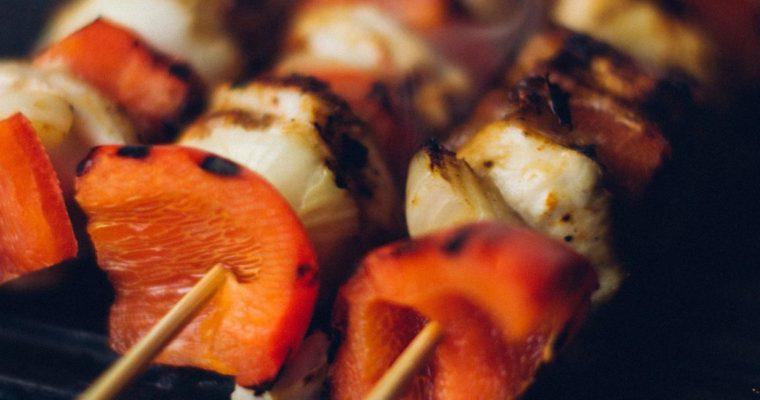 Sausage & Pepper Skewers