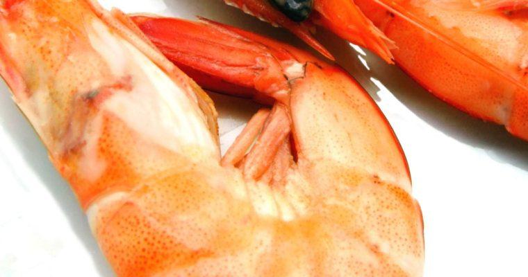 Shrimp with Mango & Basil